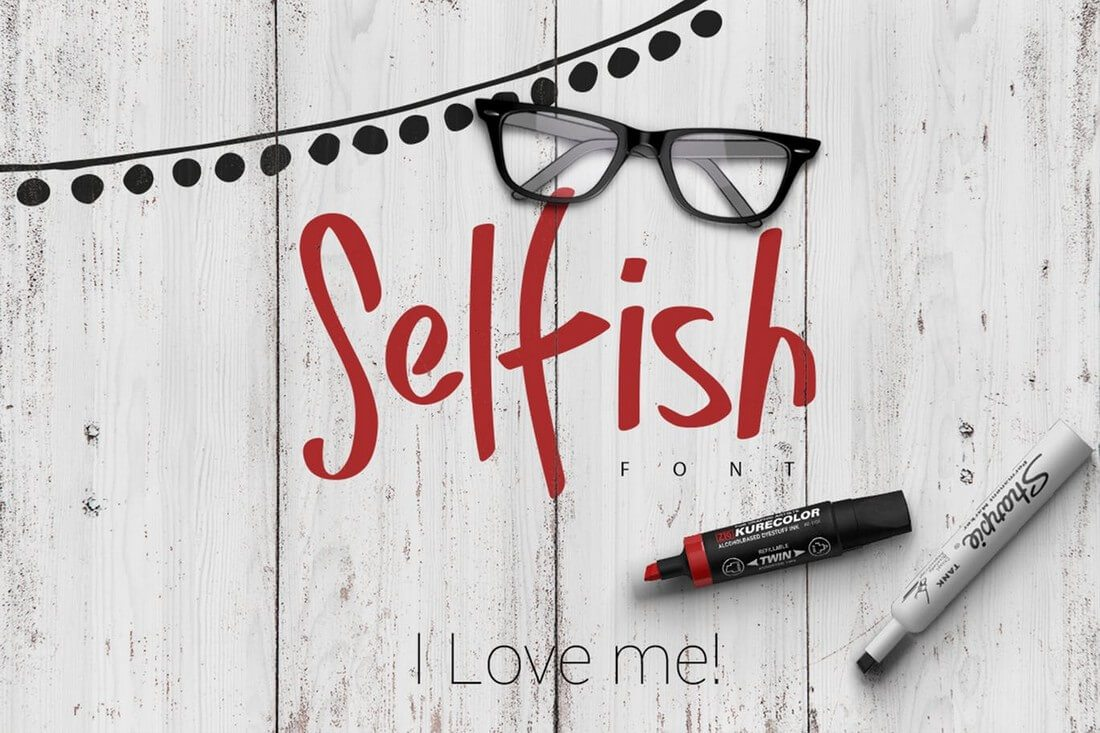 Selfish-Font 60+ Best Big, Poster Fonts of 2019 design tips