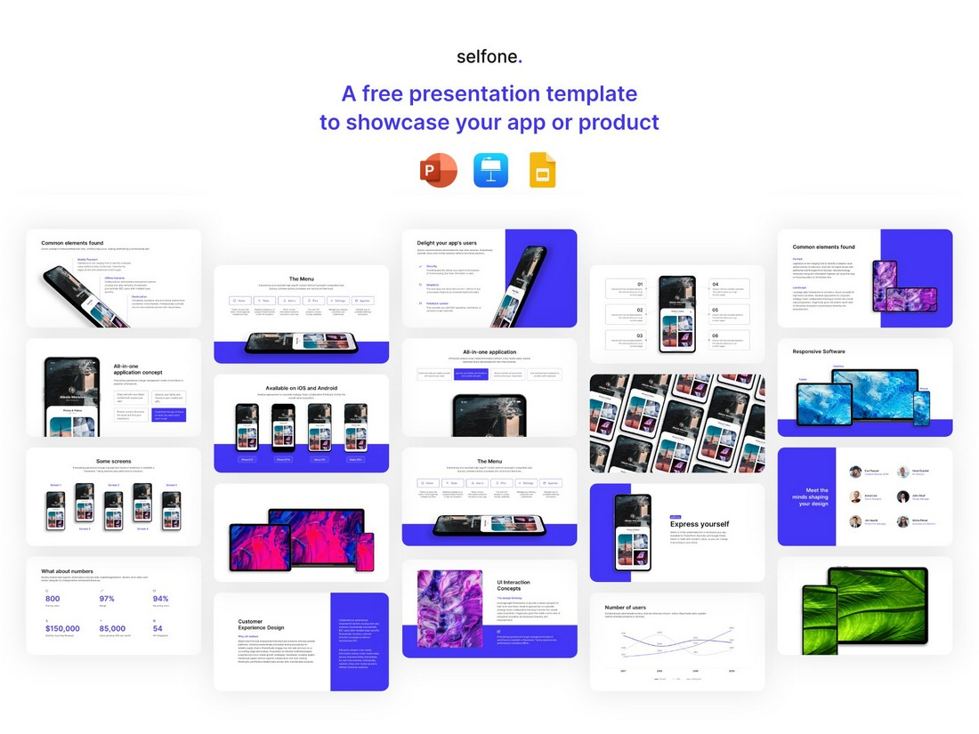 Selfone - Free Google Slides Presentation Template