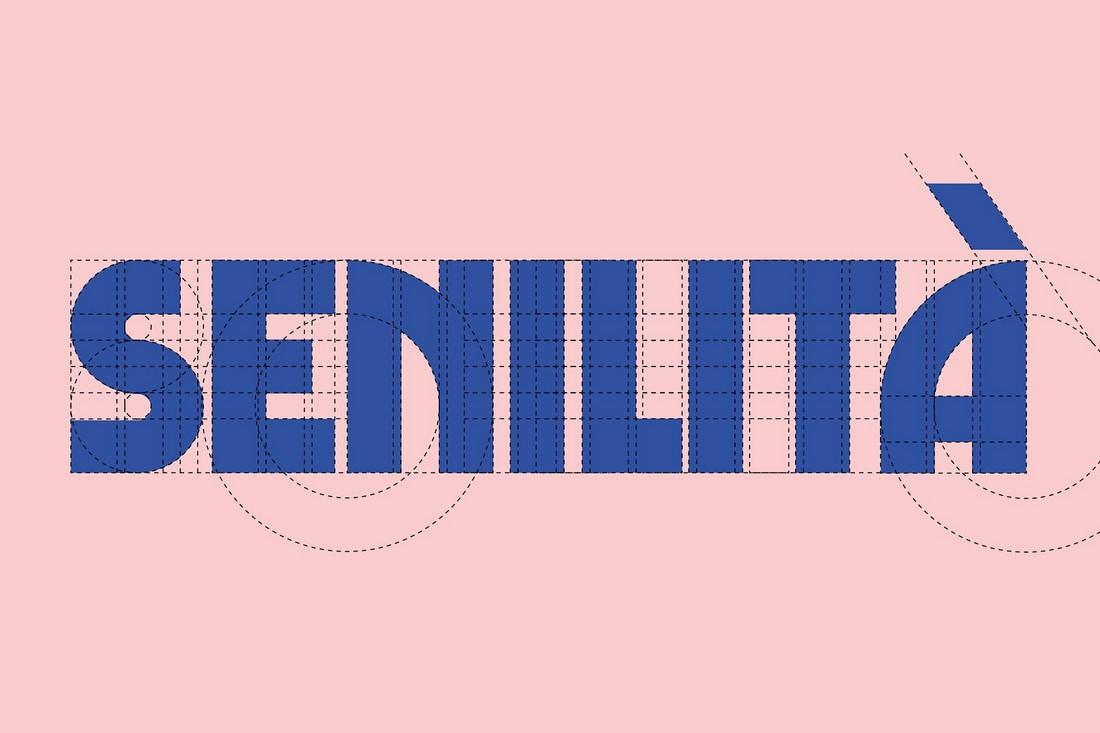 Senilità - Free Retro Display Font