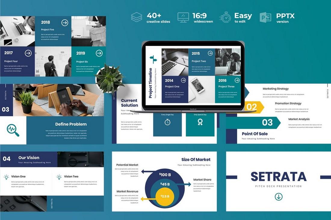 Setrata-Pitch-Deck-Powerpoint-Presentation 30+ Best Startup Pitch Deck Templates for PowerPoint 2020 design tips  Inspiration|pitch deck|powerpoint