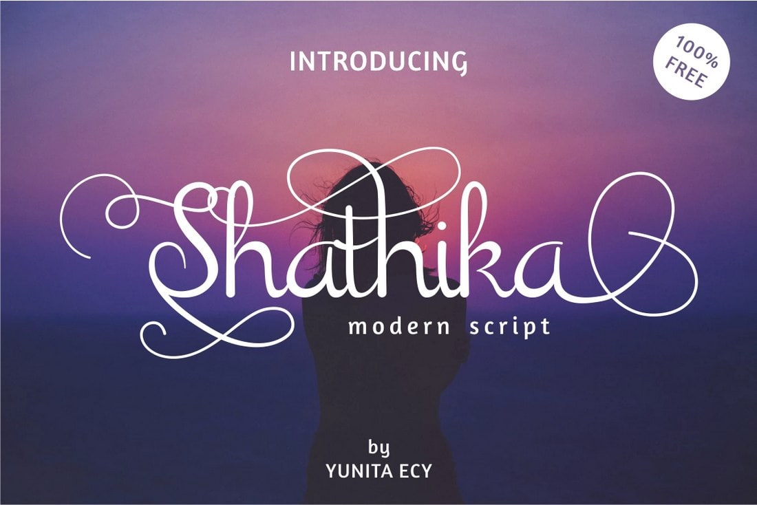 Shanthika-Free-Tattoo-Style-Script-Font 30+ Best Tattoo Fonts & Lettering design tips  Inspiration|tattoo