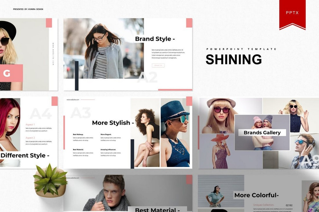 Shining - Creative Animated PowerPoint Template