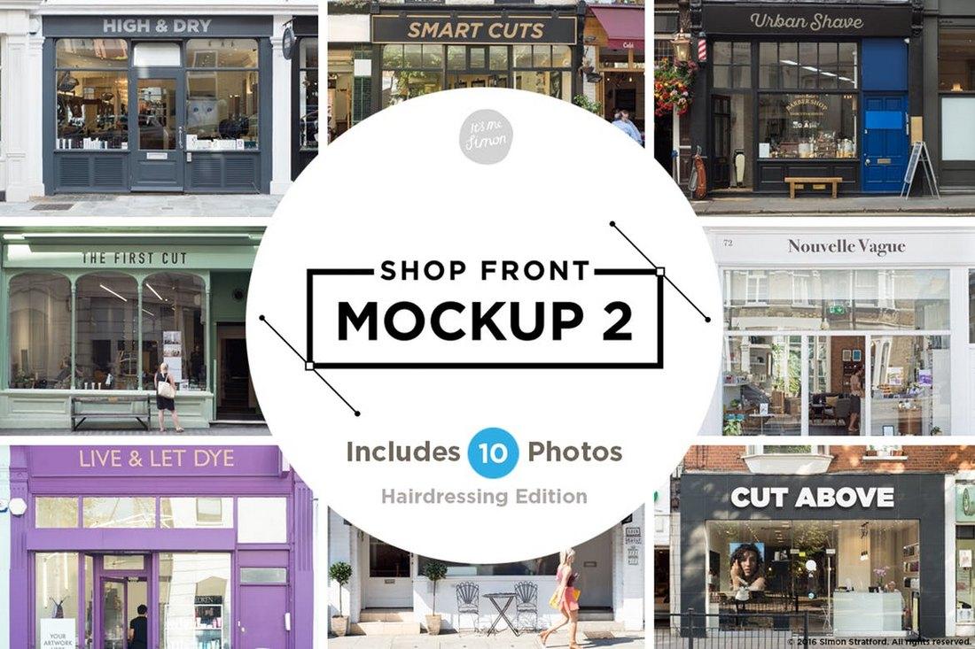 Shop-Facade-Sign-Mockups 20+ Best Sign Templates & Mockups design tips