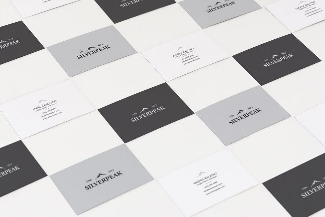 Showcase Business Card Templates