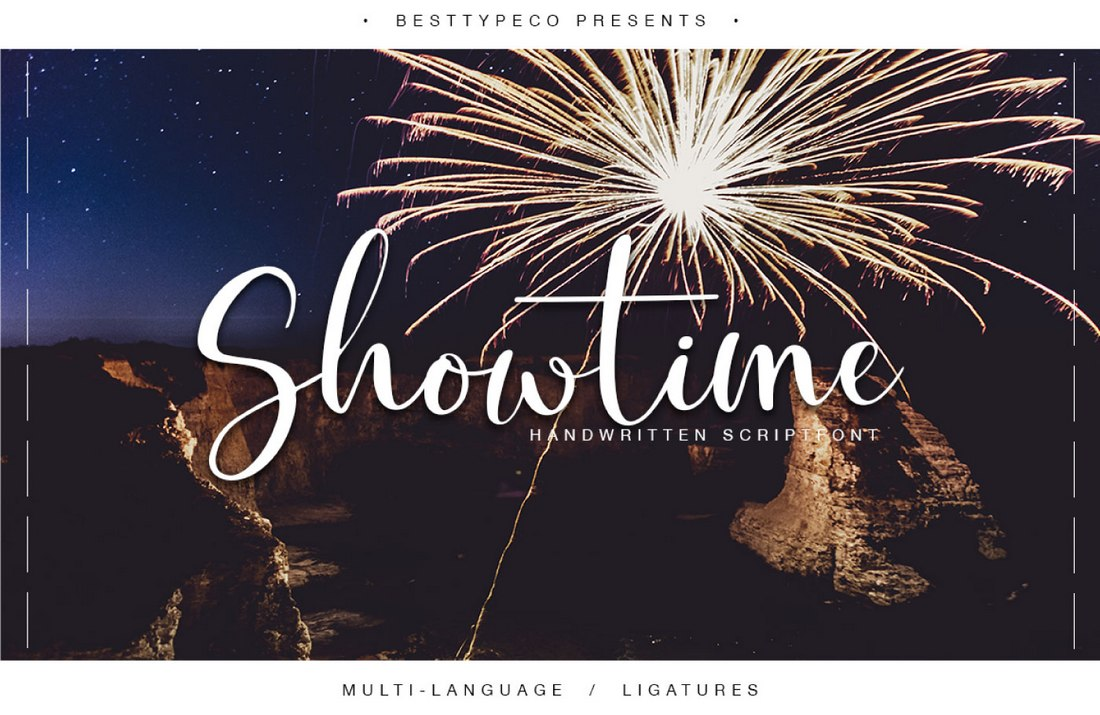 Showtime-free-handwriting-font 60+ Best Free Fonts for Designers 2020 (Serif, Script & Sans Serif) design tips  Inspiration|free|free fonts