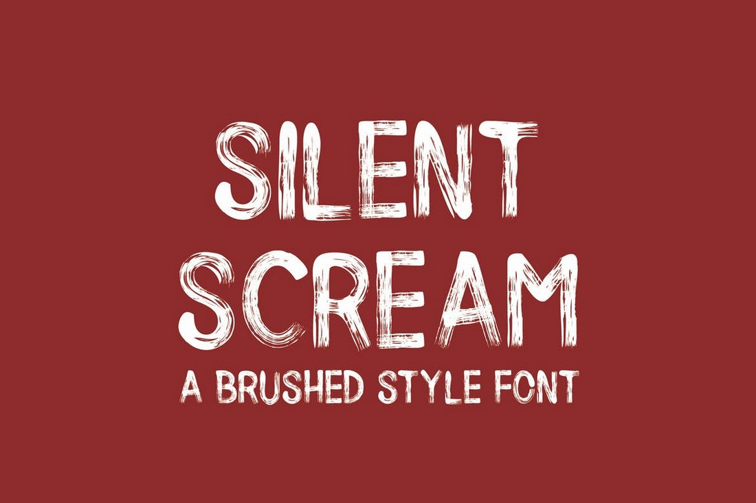 Silent Scream - Creative Halloween Fonts