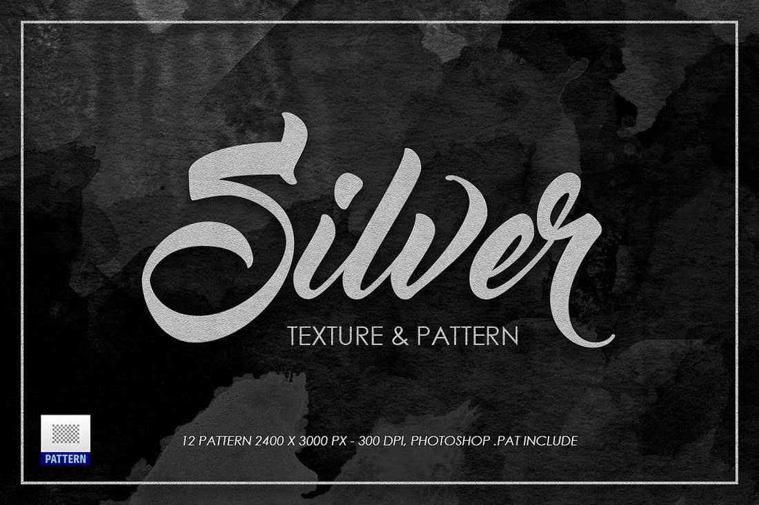 Silver-Texture-Patterns 30+ Best Subtle Black & White Background Textures design tips