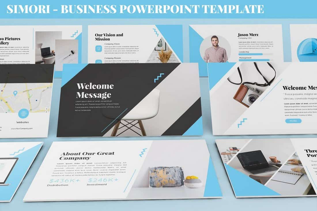 Simori - Business Powerpoint Template