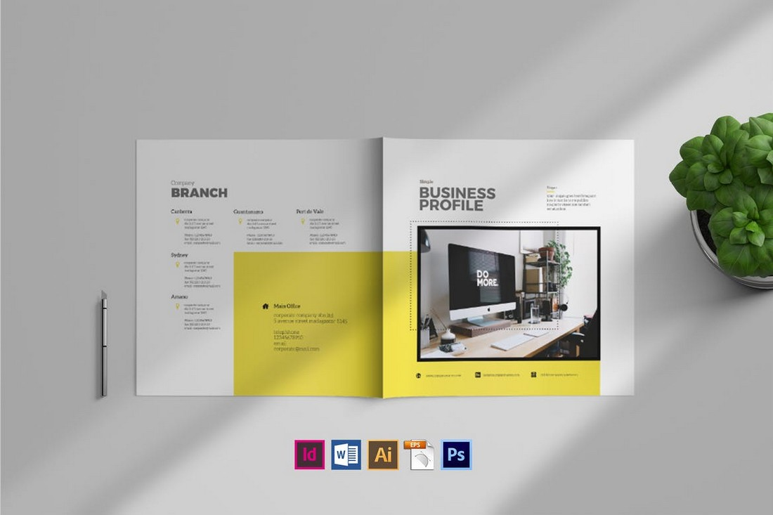Simple Business Brochure Template