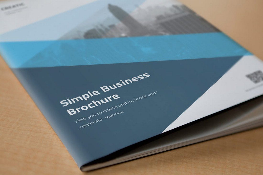 Simple-Business-Brochure 40+ Best Microsoft Word Brochure Templates 2020 design tips  Inspiration|brochure|templates