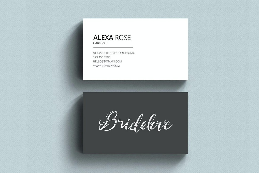 Simple Business Card for Creatives
