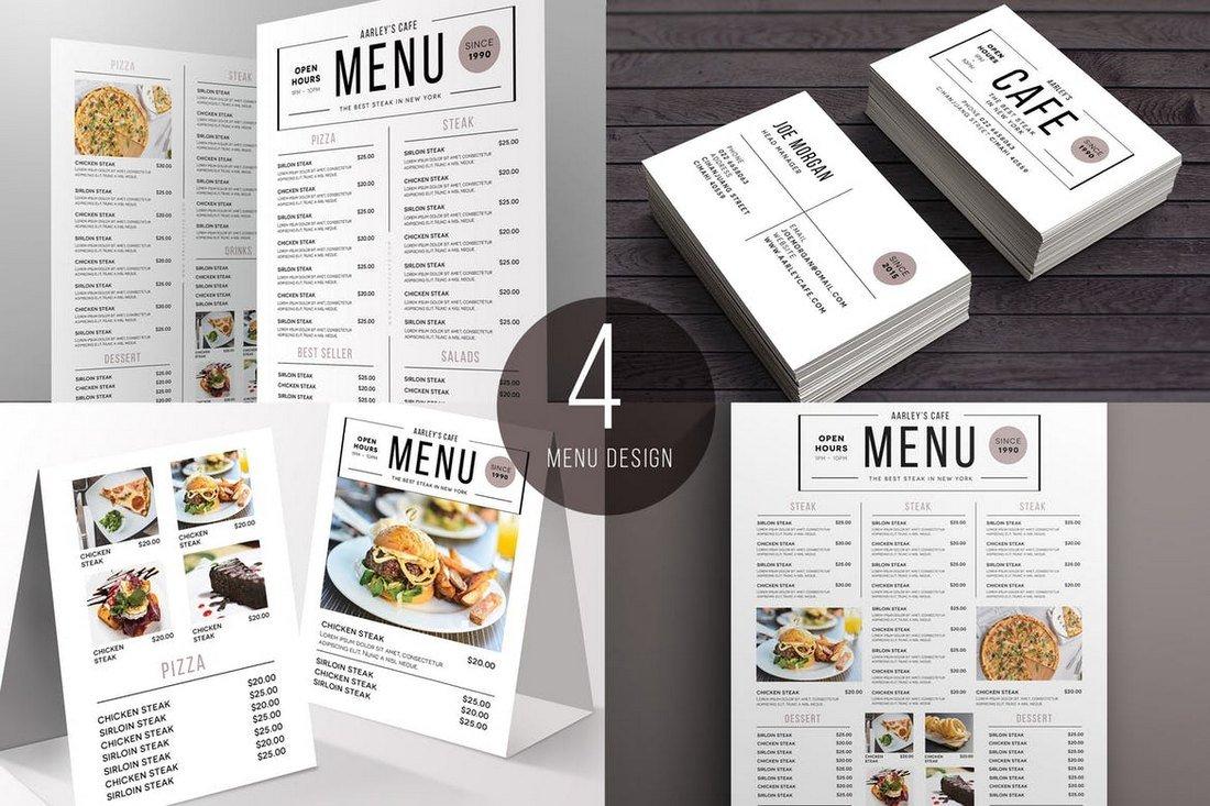 Simple-Food-and-Drink-Menu-Templates-Pack 50+ Best Food & Drink Menu Templates design tips