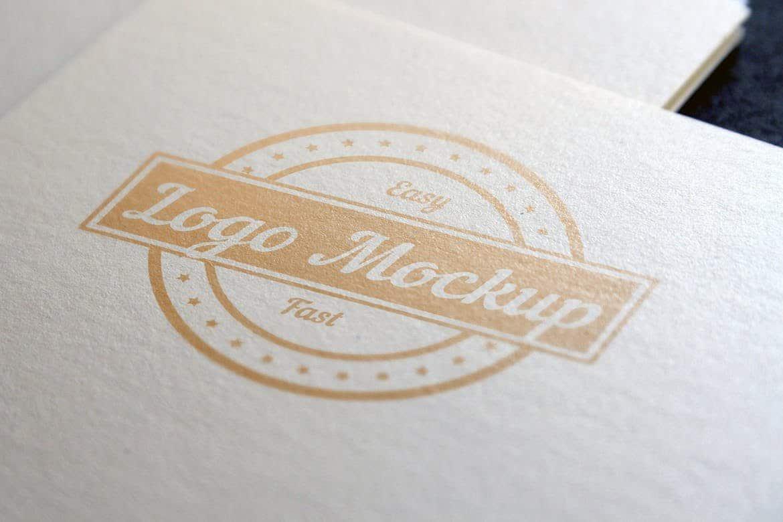 Simple Logo Mockup Set