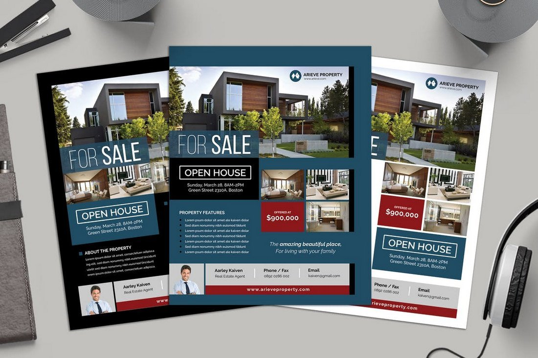 Simple-Real-Estate-Flyer-Template 30+ Best Real Estate Flyer Templates design tips  Inspiration|flyer|property|real estate