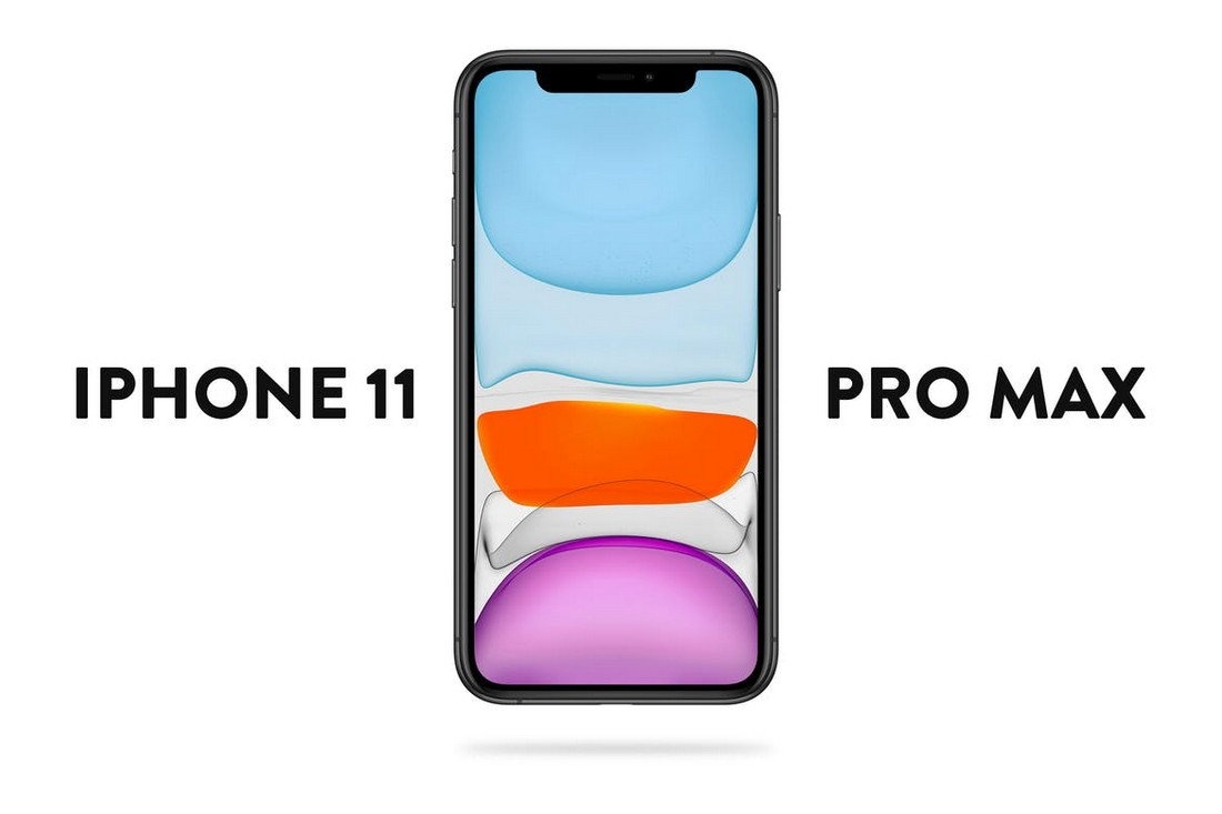 Simple iPhone 11 Pro Max Mockup