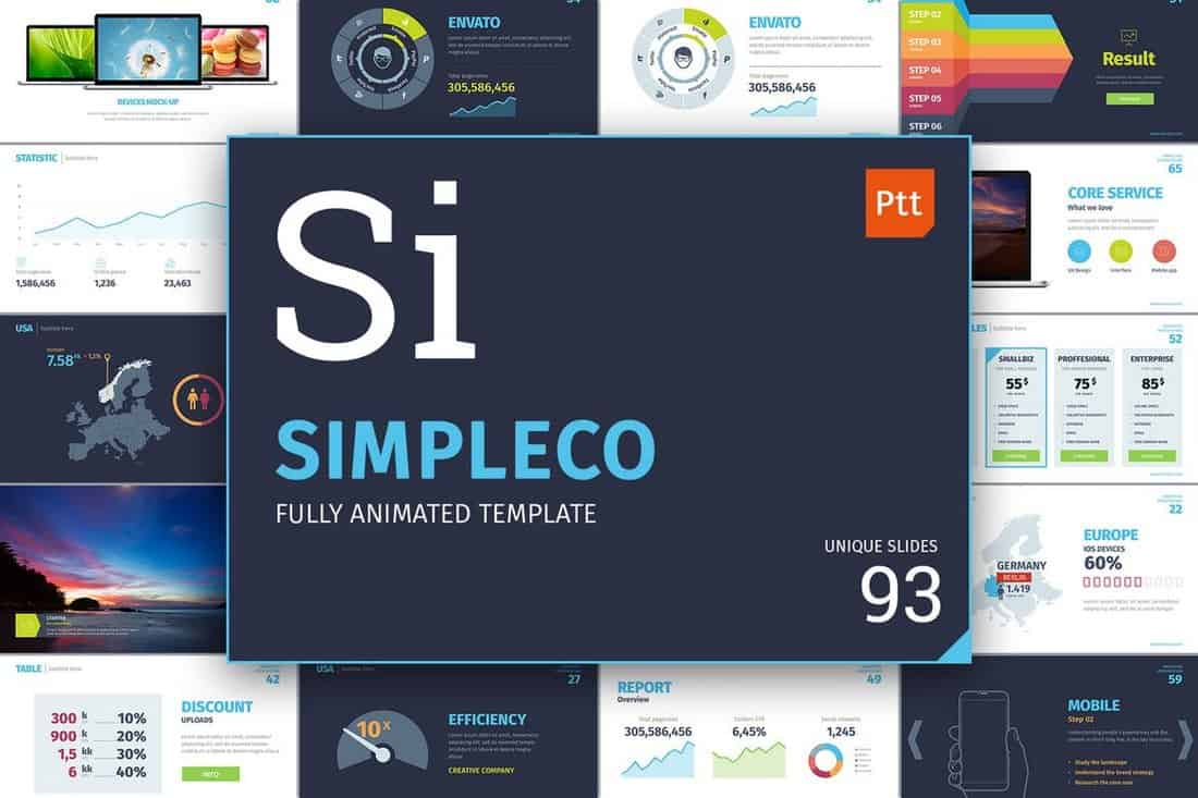 Simpleco - Professional PowerPoint Template