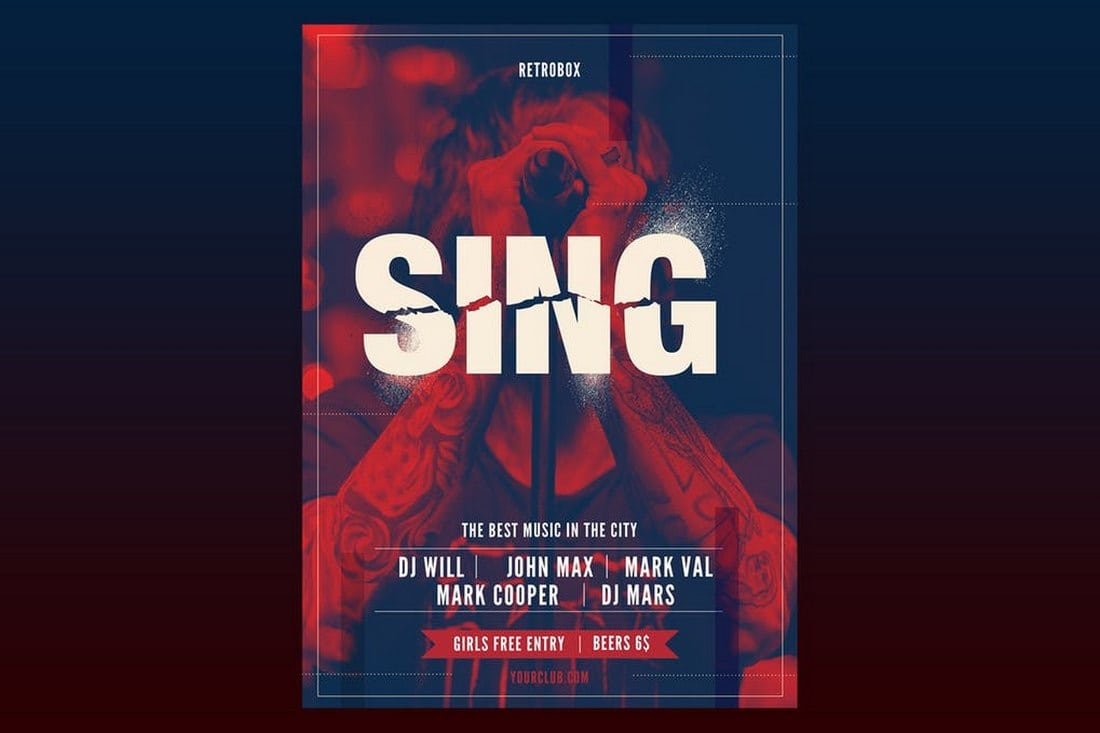 Sing Flyer Poster