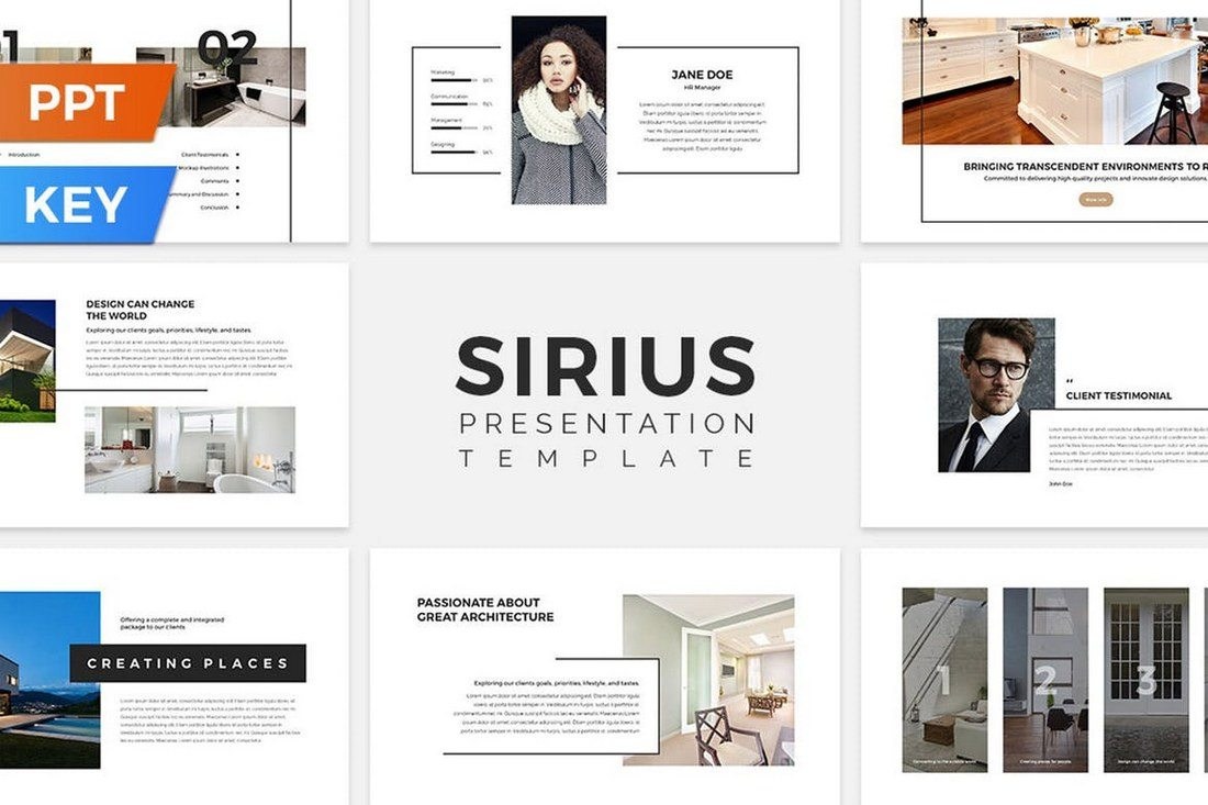 Sirius-Presentation-Template 50+ Best PowerPoint Templates of 2019 design tips