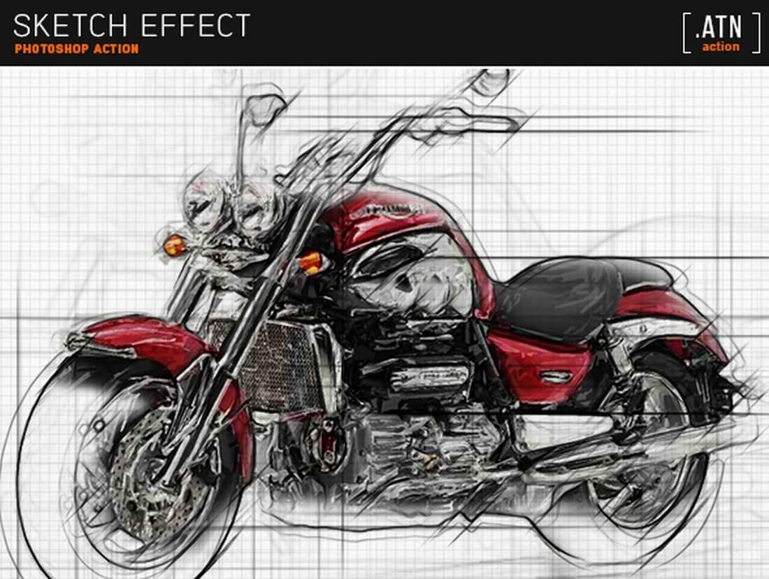 sketch-effect