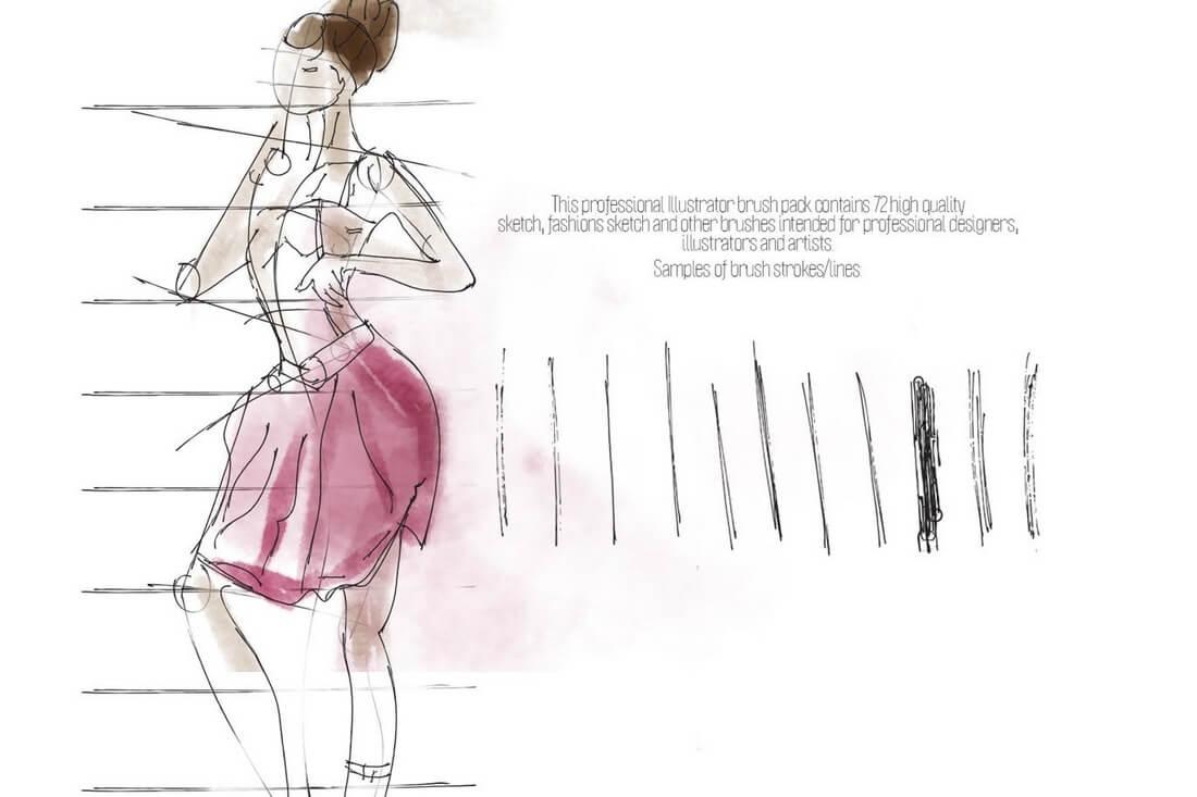Sketch-ProBrush 30+ Best High-Quality Photoshop & Illustrator Brushes design tips