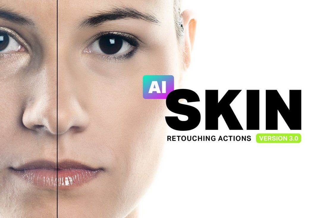 Skin Retouching Photoshop Actions
