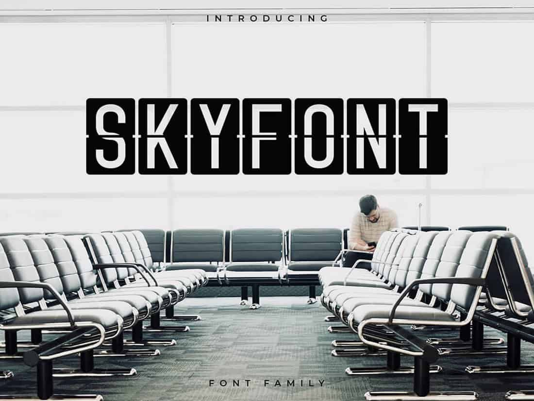 Skyfont - Free Sans Serif Font