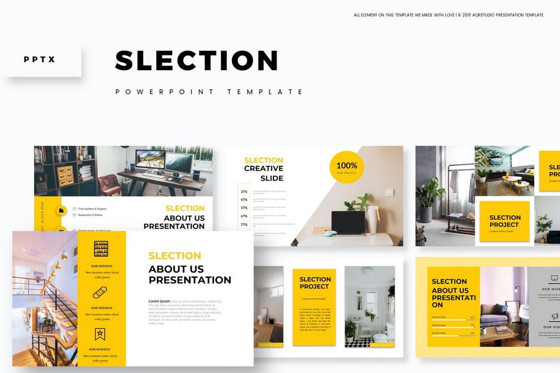 Slection - Powerpoint Template