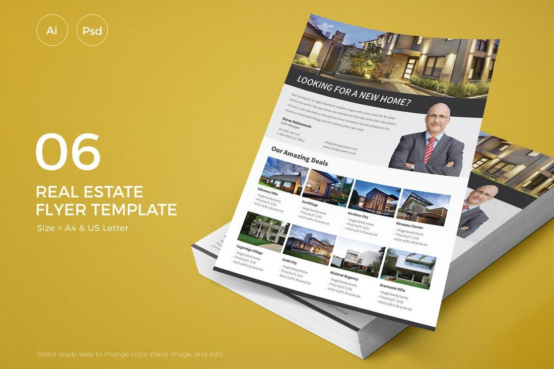 Slidewerk-Real-Estate-Flyer-06 30+ Best Real Estate Flyer Templates design tips  Inspiration|flyer|property|real estate