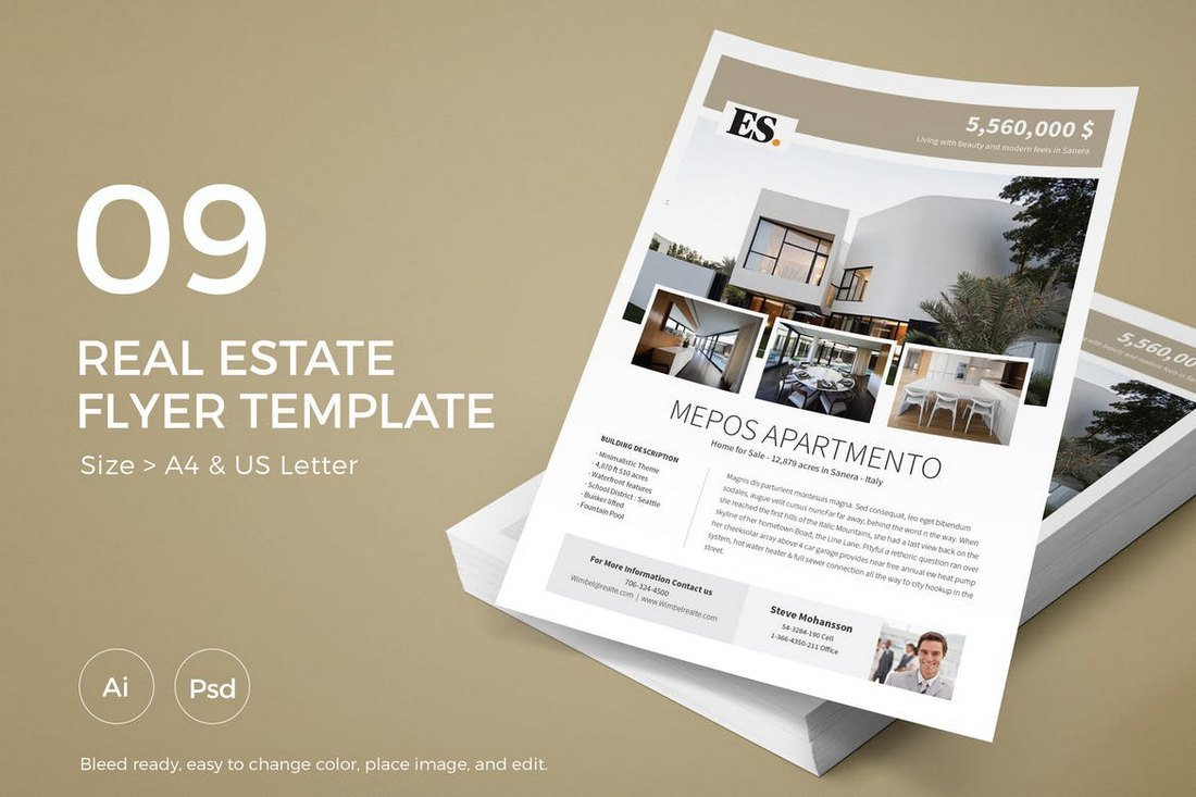 Slidewerk-Real-Estate-Flyer-09 30+ Best Real Estate Flyer Templates design tips  Inspiration|flyer|property|real estate