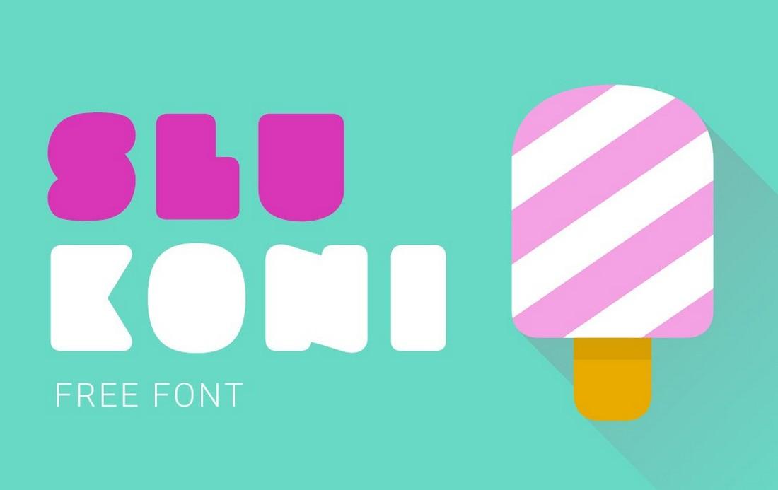 Slukoni - Free Fat Font