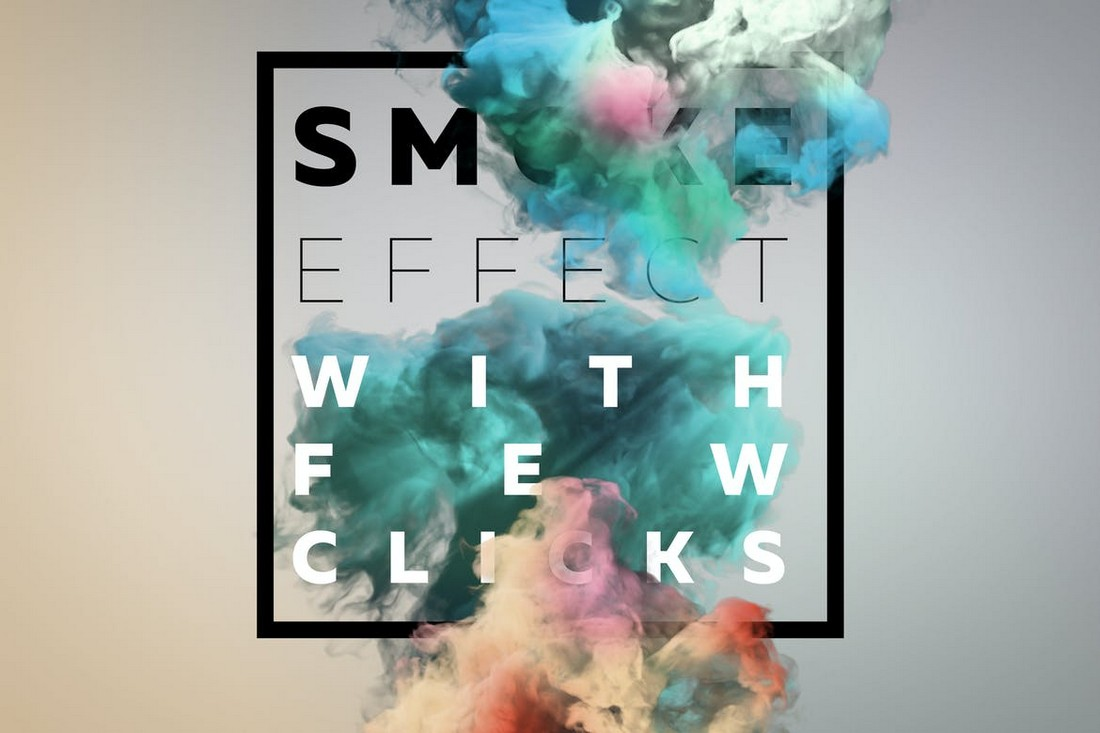 Smoke-Text-Scenes-PSD-Layer-Styles 20+ Best Photoshop Layer Styles in 2021 (Free & Premium) design tips