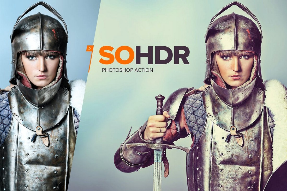SoHDR Multipurpose Photoshop Action