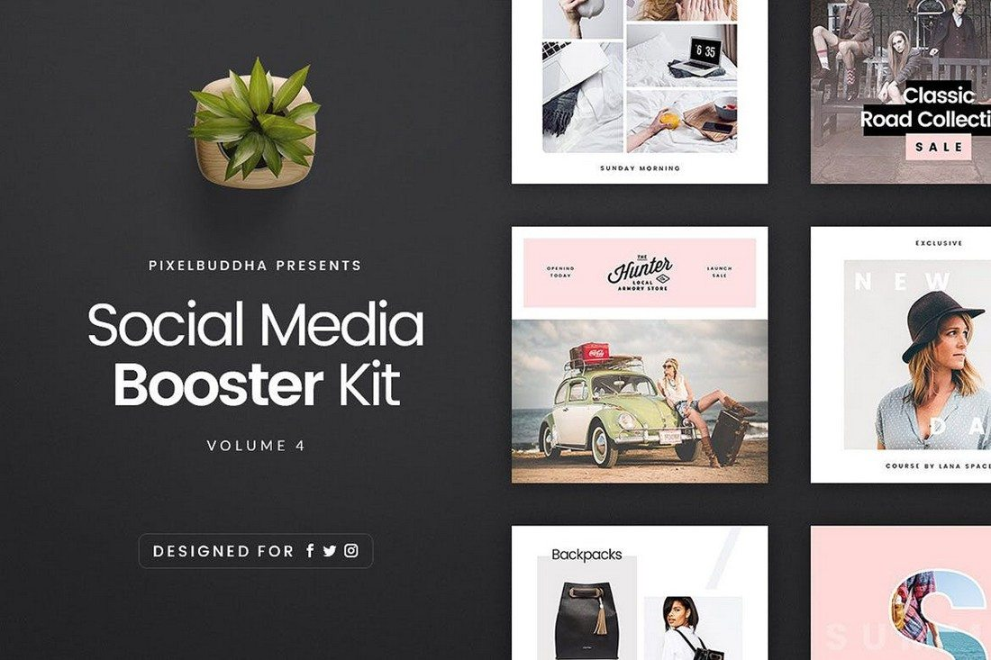 Best Facebook Cover Post Mockups Design Shack - Social media post template