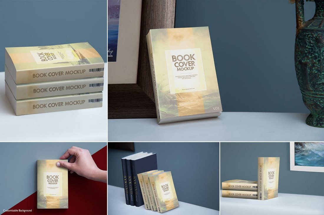 Soft Cover Book Mockup Templates