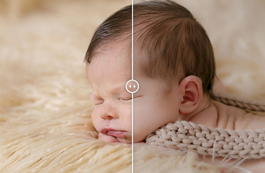 Soft Newborn - Free Lightroom Preset