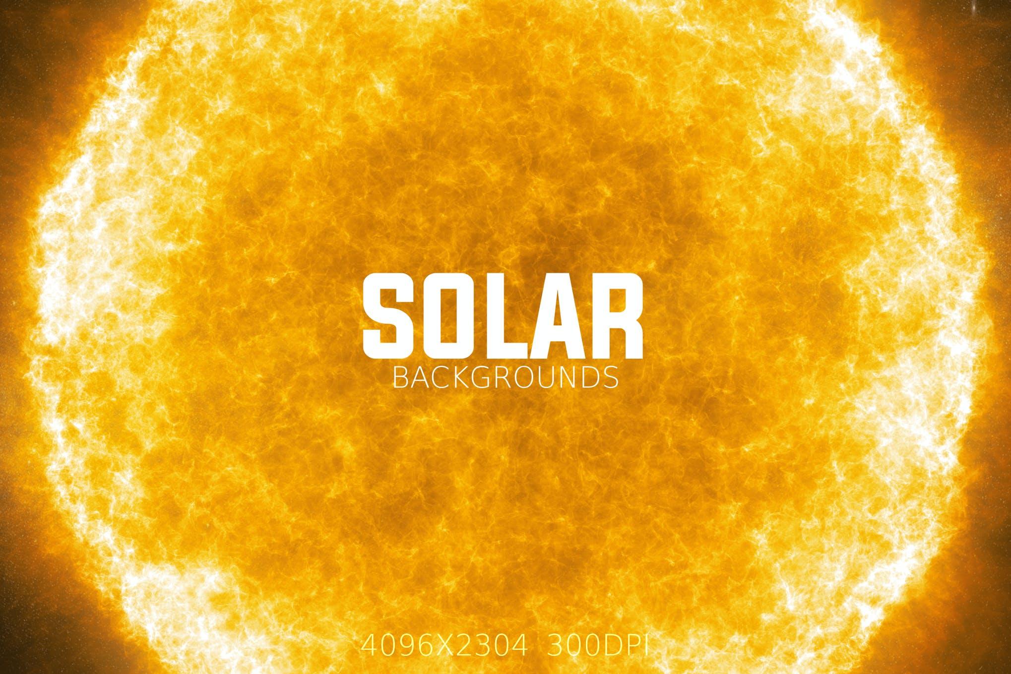 Solar Backgrounds