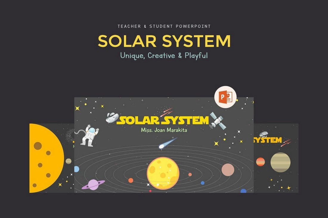 Solar System - Science PowerPoint Presentation