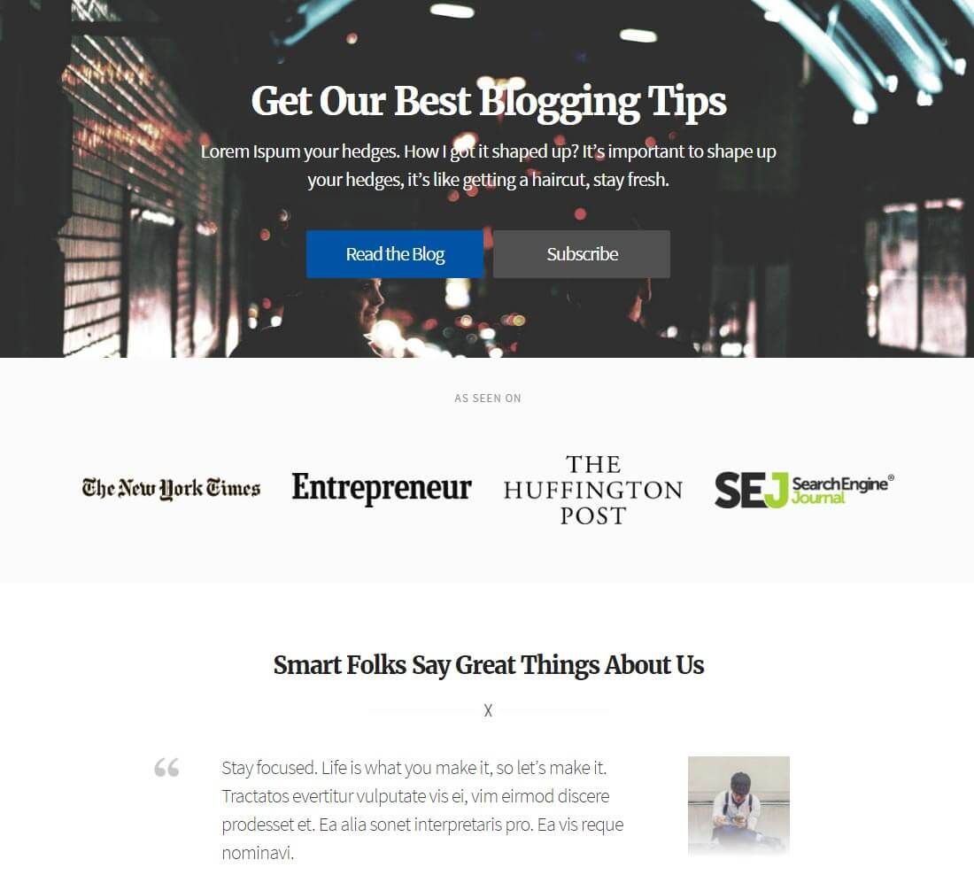 Solopreneur Landing Page 1