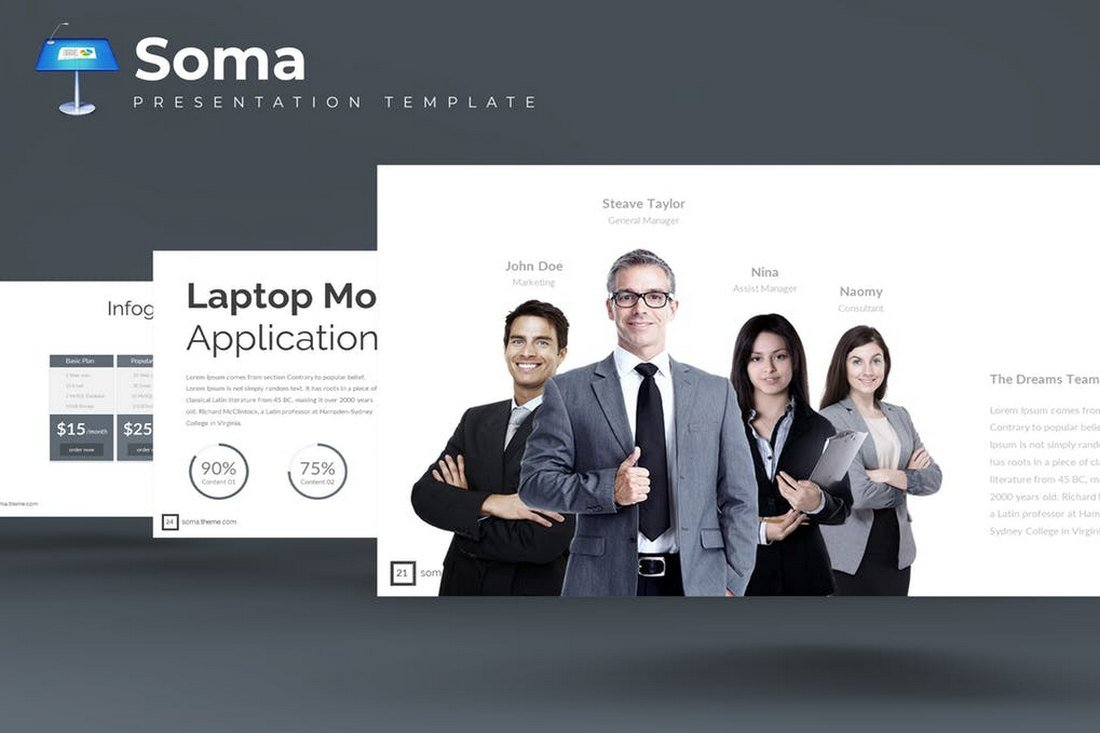 Soma-Keynote-Template 50+ Best Keynote Templates of 2021 design tips