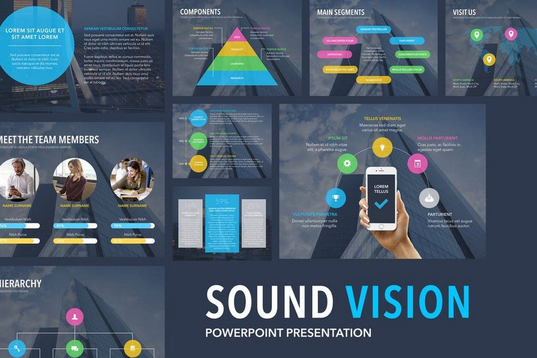 Sound-Vision-PowerPoint-Template 60+ Beautiful, Premium PowerPoint Presentation Templates design tips  Inspiration|microsoft|powerpoint|presentation|template