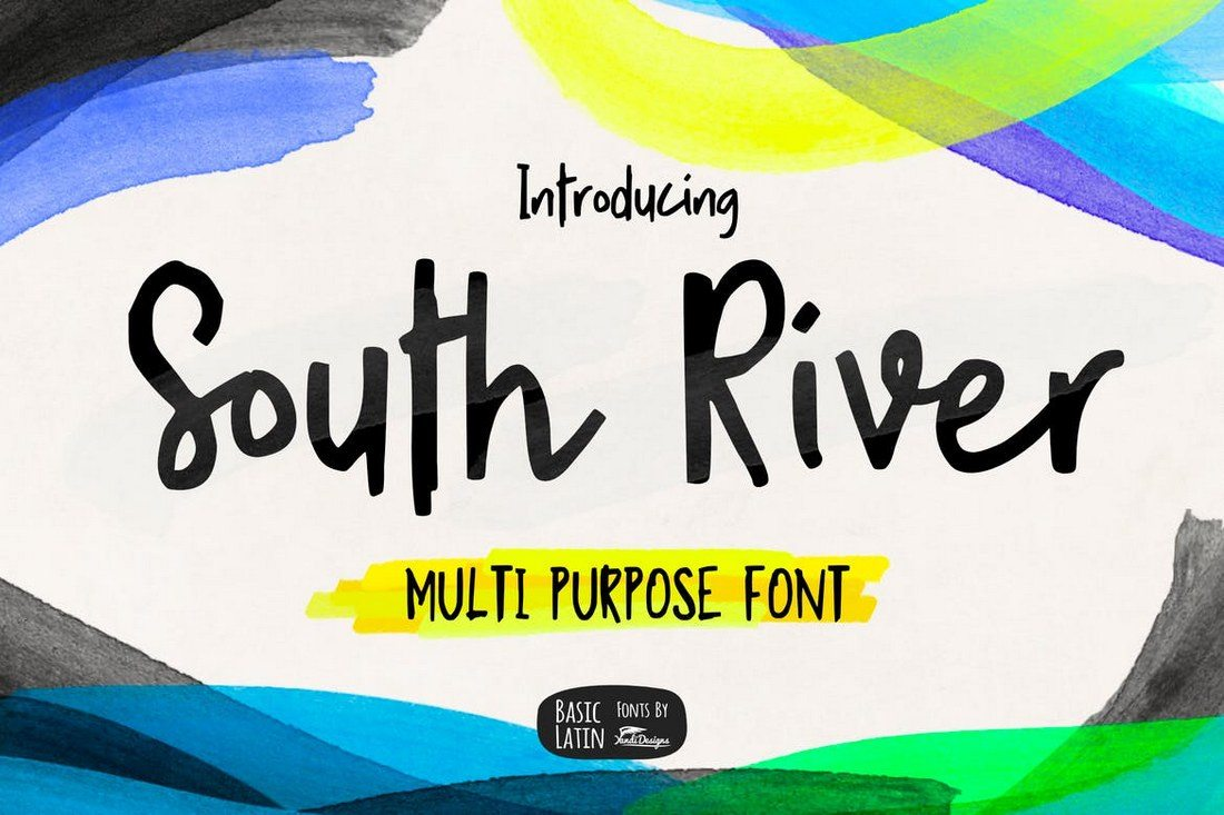 South-River-Font 30+ Best Cursive & Script Fonts design tips
