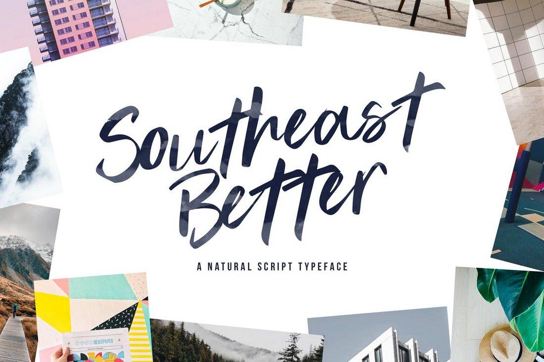 Southeast Better - Handwritten Script Font