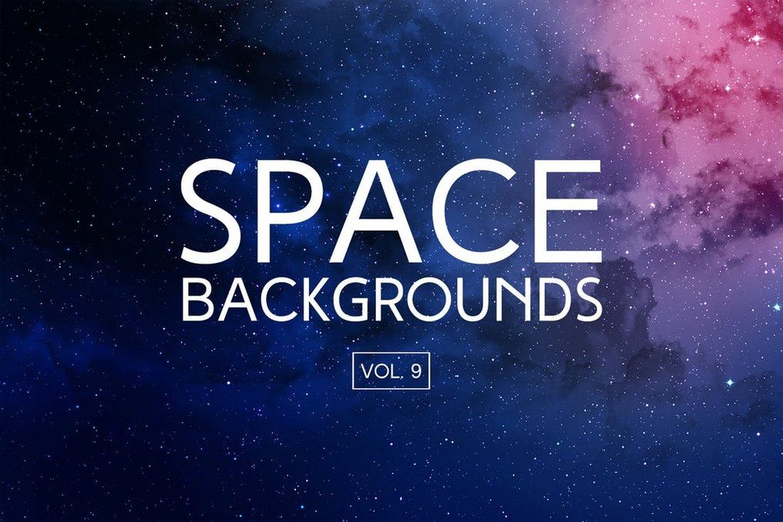 Space-Backgrounds-Volume-9 35+ Best Space & Galaxy Background Textures design tips