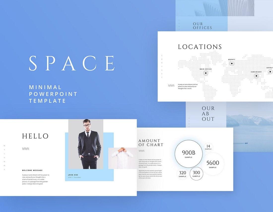 Space-Free-Business-Keynote-Template 30+ Keynote Business Slide Templates design tips  Inspiration|business|keynote|presentation