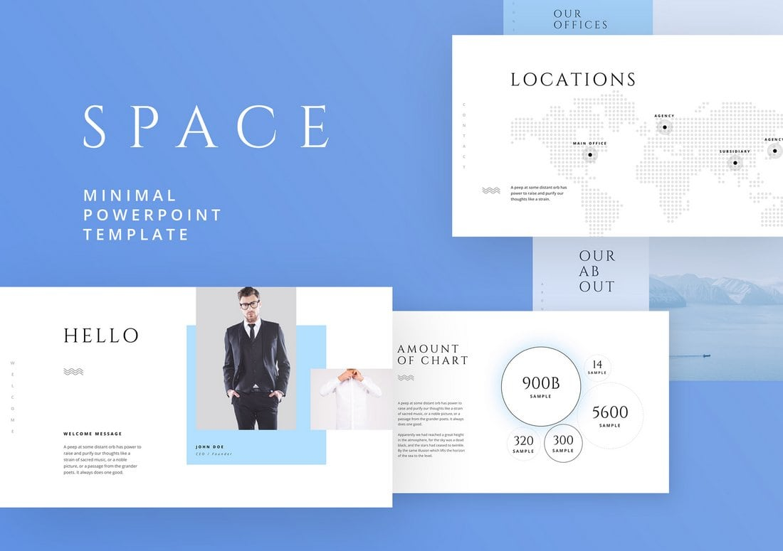 Space-Free-Powerpoint-Keynote-Template-2 50+ Best PowerPoint Templates of 2020 design tips