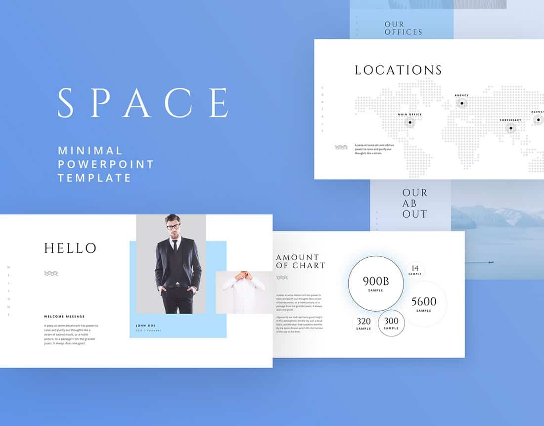Space - Free Powerpoint & Keynote Template