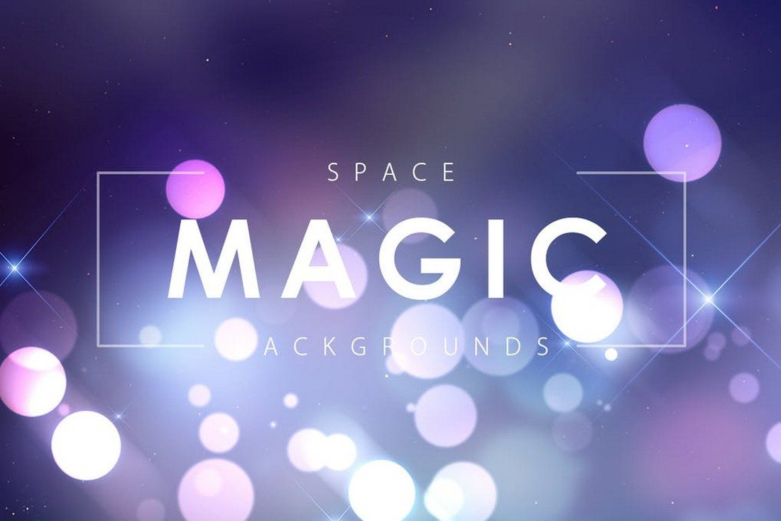 Space-Magic-Backgrounds 35+ Best Space & Galaxy Background Textures design tips