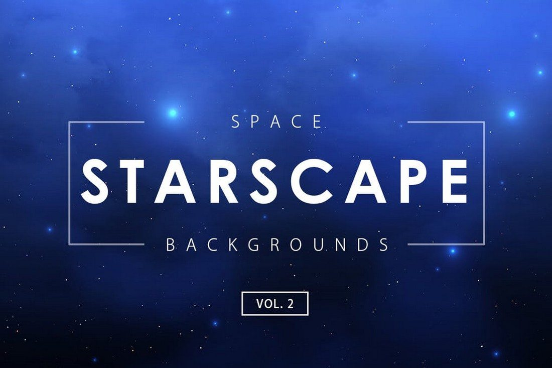 Space-Starscape-Backgrounds 35+ Best Space & Galaxy Background Textures design tips