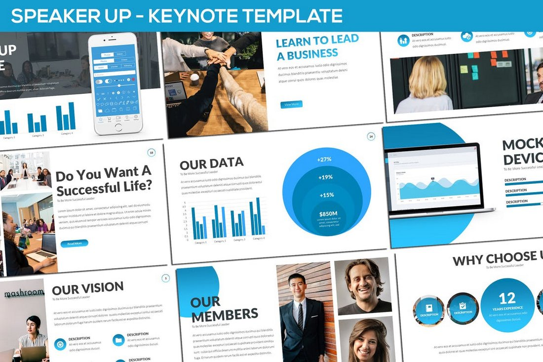 Speaker-Up-Keynote-Template 30+ Keynote Business Slide Templates design tips  Inspiration|business|keynote|presentation