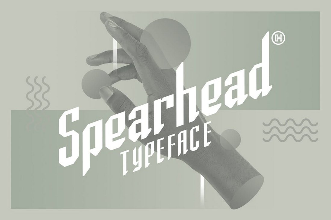 Spearhead-Vintage-Gothic-Typeface 20+ Best Gothic Fonts design tips